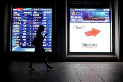 El índice Nikkei pierde 104,54 puntos, el 1,15 ciento, hasta 9.012,15 puntos
