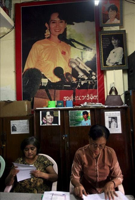 Suu Kyi pide el boicot a las elecciones birmanas del próximo noviembre