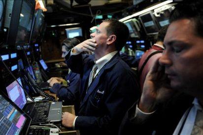 El Dow Jones baja el 0,61 por ciento y pierde la cota de 10.000 puntos