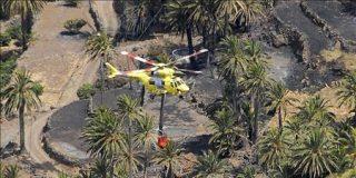 Controlado el incendio en la isla de La Gomera tras casi dos días