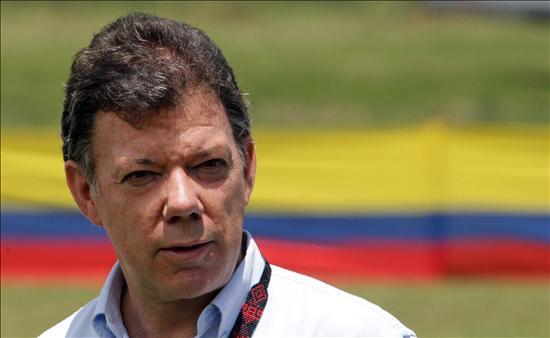 Santos viajó a Brasil, su primer destino fuera de Colombia como presidente