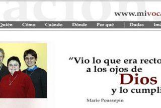 """Sor Conchi García: """"El Señor me llamó con la promesa de amor eterno y yo le dije que sí"""""""
