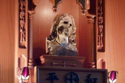 La Virgen que resistió la bomba atómica, símbolo de paz