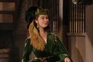Salva los vestidos de Scarlett O'Hara en 'Lo que el Viento se Llevó'