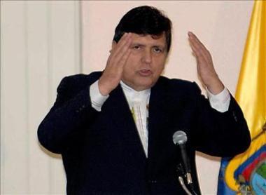 Alan García ve con futuro presidencial a sus hijos Federico Danton y Alan Raúl