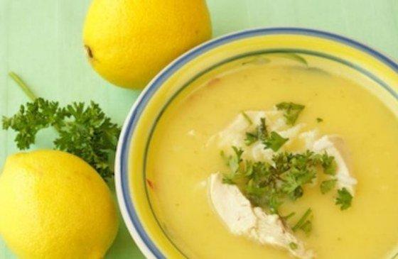 Avgolemono, sopa griega de pollo y limón