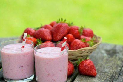 La mejor receta de batido de fresa sin azúcar añadido