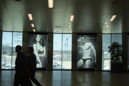 Cristiano Ronaldo y Megan Fox, sexys en las paredes