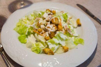 Ensalada César, receta original 🥗