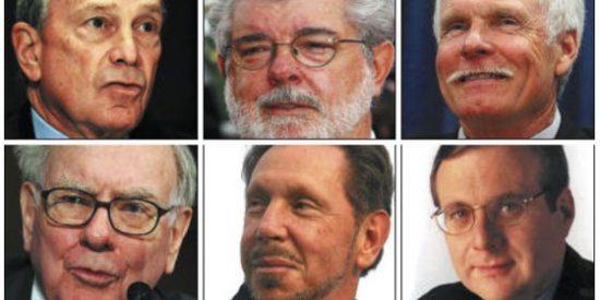 Bill Gates y Warren Buffet convencen a 50 de los hombres más ricos del planeta para que donen la mitad de sus fortunas