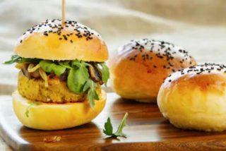 Receta fácil de hamburguesas de garbanzos