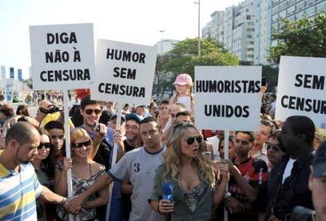 Marchan en Brasil contra ley que prohíbe los chistes políticos durante campaña electoral