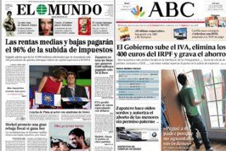 El diario 'Público' se cae del guindo con Zapatero