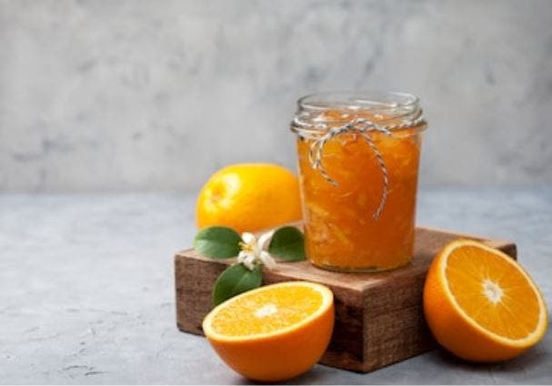 Mermelada de naranja casera: