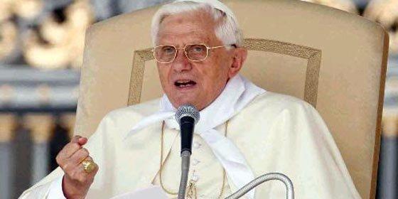 Papa Benedicto XVI oró por mineros chilenos atrapados