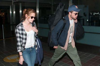 'Robsten': Kristen Stewart y Robert Pattinson llegan a L.A. como novios