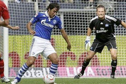 Raúl debuta en el Schalke con una victoria