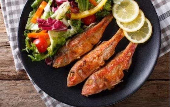 salmonetes al horno