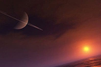 La superficie de Titán se arruga como una pasa