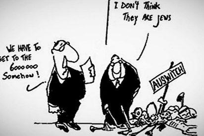 Multan a un grupo musulmán por una caricatura que pone en duda el Holocausto