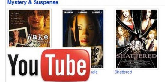 YouTube lanza un videoclub gratuito con cientos de películas de acción, clásicas, terror y comedia