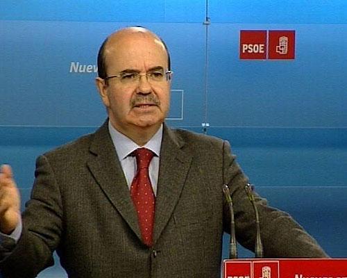 """Zarrias (PSOE) subraya que """"hay que saber ganar y perder"""" y lamenta que se pueda """"perjudicar"""" al partido"""