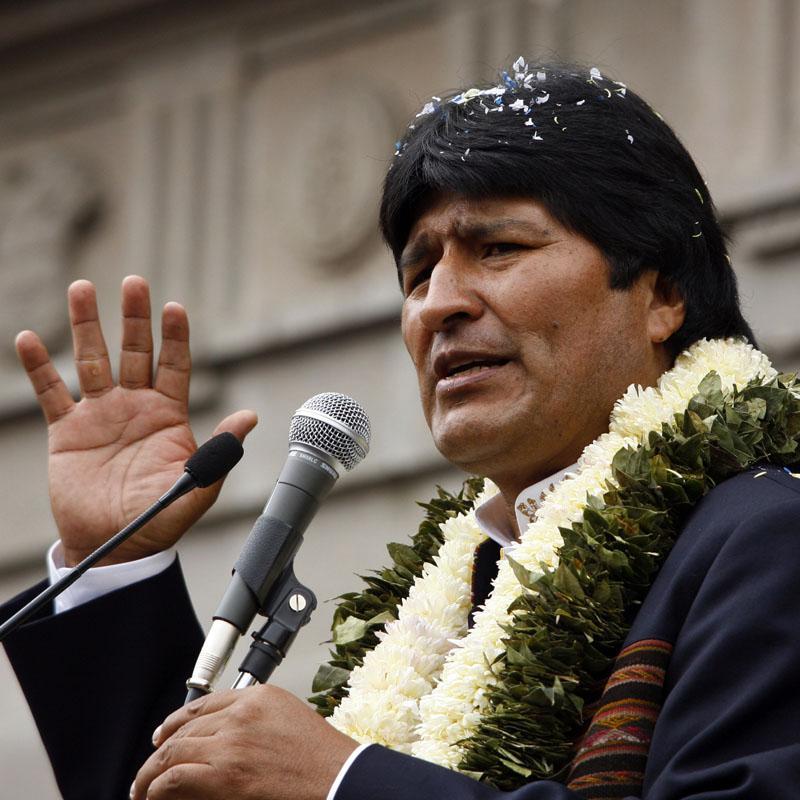 Evo Morales anuncia que Zapatero visitará Bolivia