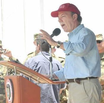 """Santos asegura que la operación contra el 'Mono Jojoy' es el """"principio del fin"""" de las FARC"""