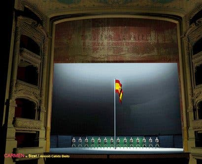 "Bieito lleva al Liceu una 'Carmen' de Bizet ""colosal"""