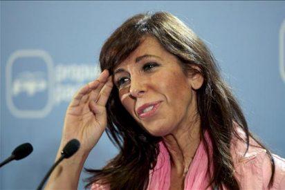 """Alicia Sánchez-Camacho: """"El PP es la garantía para seguir utilizando el castellano en Cataluña con normalidad"""""""