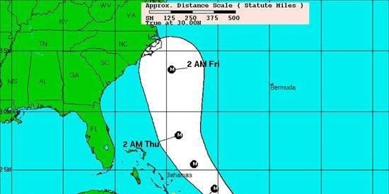 """El poderoso huracán """"Earl"""" pone en alerta a la costa este de EE.UU."""