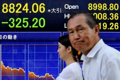 El Nikkei gana 19,78 puntos, el 0,22 ciento, hasta 8.843,84 puntos