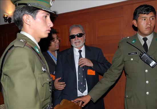 Encarcelado en Bolivia el ex gobernador de La Paz deportado por Perú