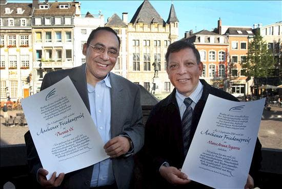 Un sacerdote peruano recibe el Premio de la Paz de Aquisgrán por la defensa de los DDHH