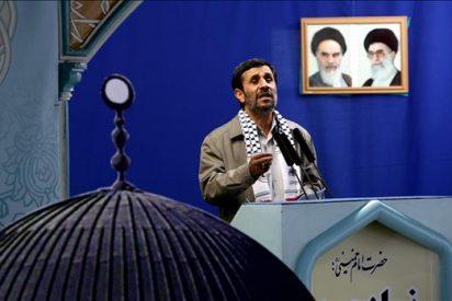 """Ahmadineyad condena las """"negociaciones de la paz"""" y las califica de """"fracasadas"""""""