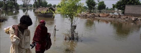 Tragedia en el suroeste de Pakistán con millón de desplazados por las inundaciones, según la ONU