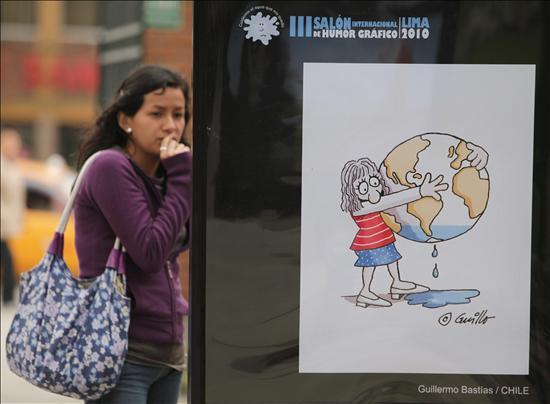 El Salón Internacional de Humor Gráfico Lima 2010 reflexiona sobre el valor del agua