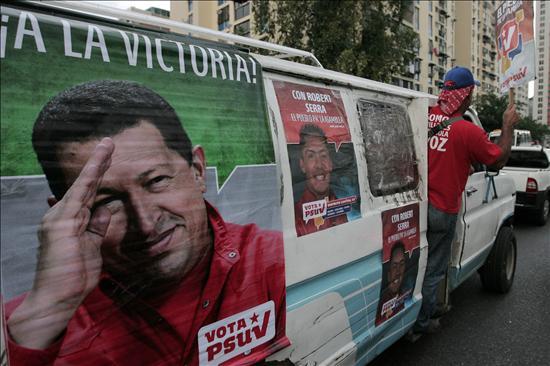 Las nuevas tecnologías se cuelan en la campaña electoral venezolana