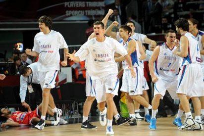 73-72. Serbia es el primer cuartofinalista del Mundial de baloncesto tras vencer a Croacia