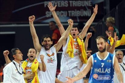 80-72. La defensa en zona ante Grecia da a la selección española el pase a cuartos
