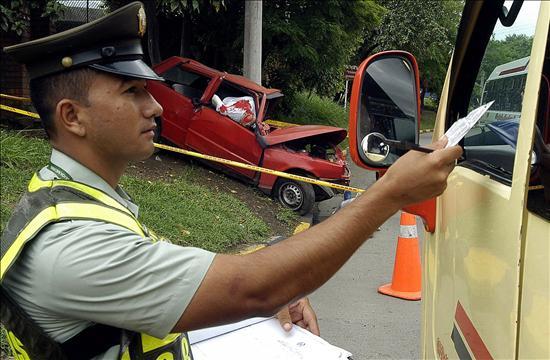 Sancionados en un día 549 conductores ebrios en las carreteras colombianas
