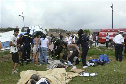Las autoridades marroquíes reducen a nueve las víctimas mortales en el accidente de autobús
