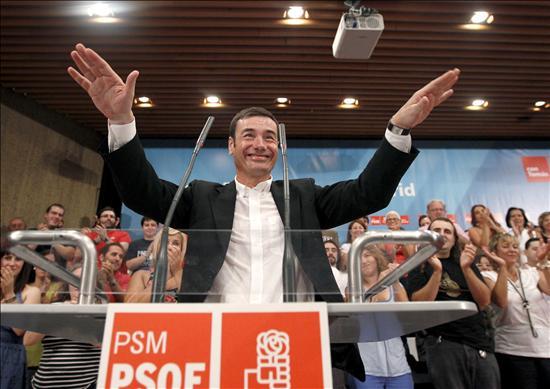 Tomás Gómez critica el envío de sms a los militantes pero no recurrirá al juzgado