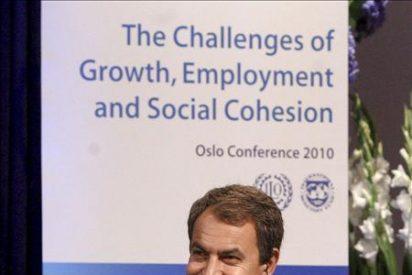 Zapatero advierte de que las pensiones pueden tener problemas en 10 ó 15 años
