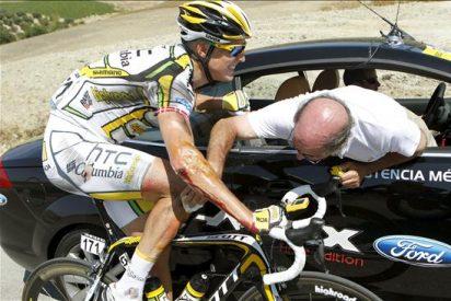 Bennati se llevó la victoria en la decimoctava etapa de la Vuelta al ganar su duelo ante Cavendish