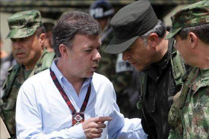 Santos destaca la reducción de hechos criminales y de los narcocultivos en Colombia