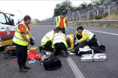 Un joven herido grave en un atropello, en el que el conductor se da a la fuga