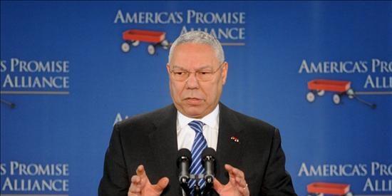 """Colin Powell le recomienda a Obama """"centrarse como un bisturí"""" en el desempleo"""