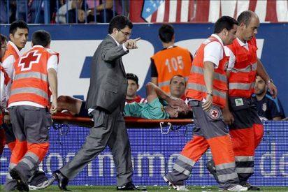 Messi sufre una distensión en el ligamento lateral interno del tobillo