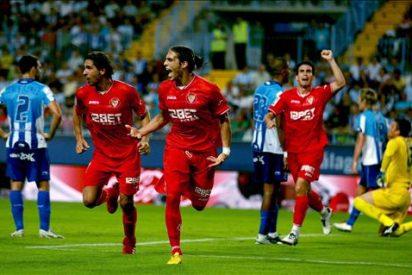1-2. El Sevilla alivia sus penas en el duelo andaluz